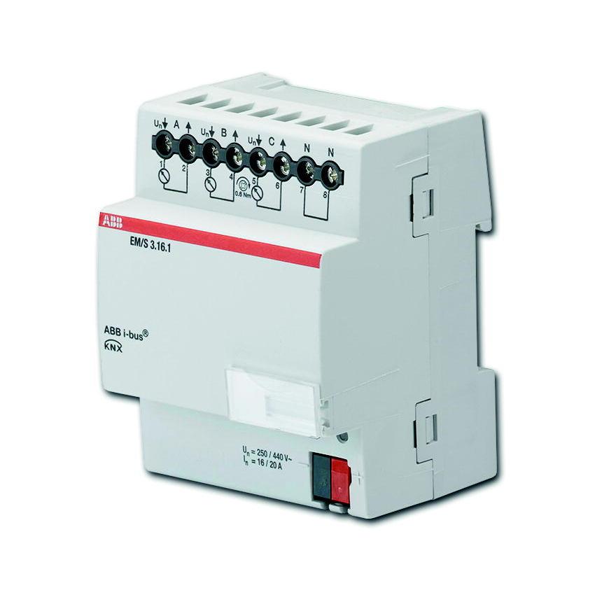 EM/S 3.16.1 BUS KNX ENERGIEM-MOD.3V 16/20A