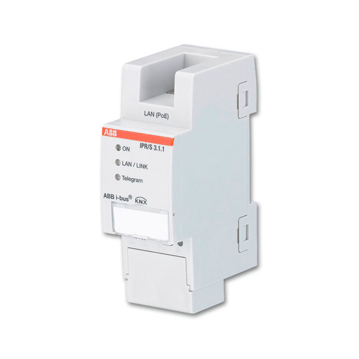 IPR/S 3.1.1 BUS KNX IP-ROUTER 5V POE