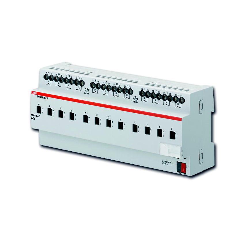 SA/S 12.16.2.1 BUS KNX UITG.12X 16A-AC1 DIN-R