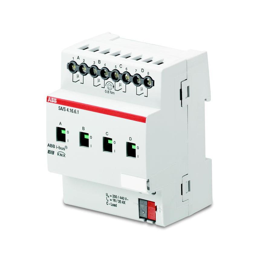 SA/S 12.16.6.1 BUS KNX UITGANG 12X16/20AX I-D