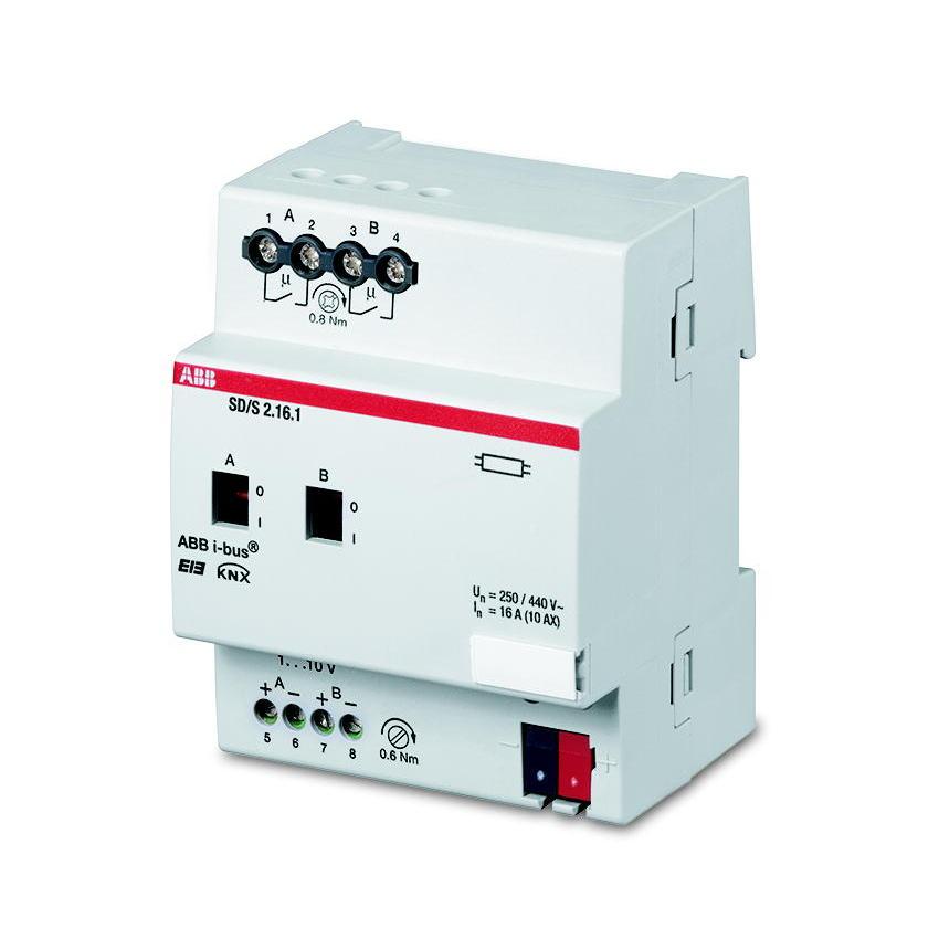 SD/S 2.16.1 BUS EIB SCHAK/DIM-AKT 0-10V 2V