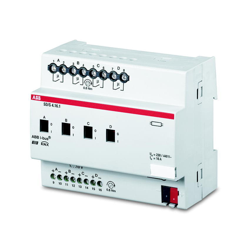 SD/S 4.16.1 BUS EIB SCHAK/DIM-AKT 0-10V 4V