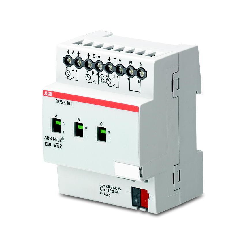 SE/S 3.16.1 BUS SE/S 3.16.1 KNX ENERGIE AK