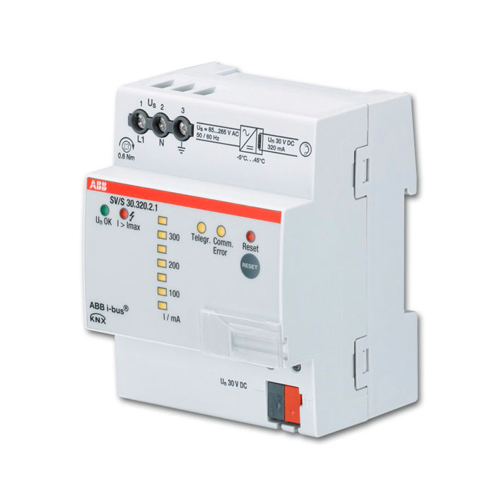 SV/S 30.320.2.1 BUS KNX VOED.320MA DIAGN.DIN-R