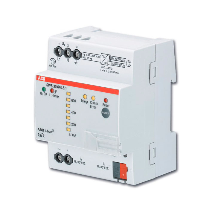 SV/S 30.640.5.1 BUS KNX VOED.640MA DIAGN.DIN-R