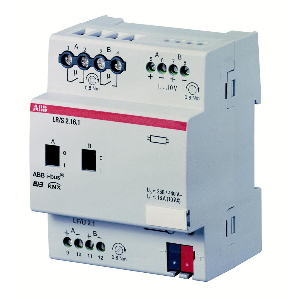 LR/S 2.16.1 BUS KNX LICHTREG.0-10V 2V DIN-