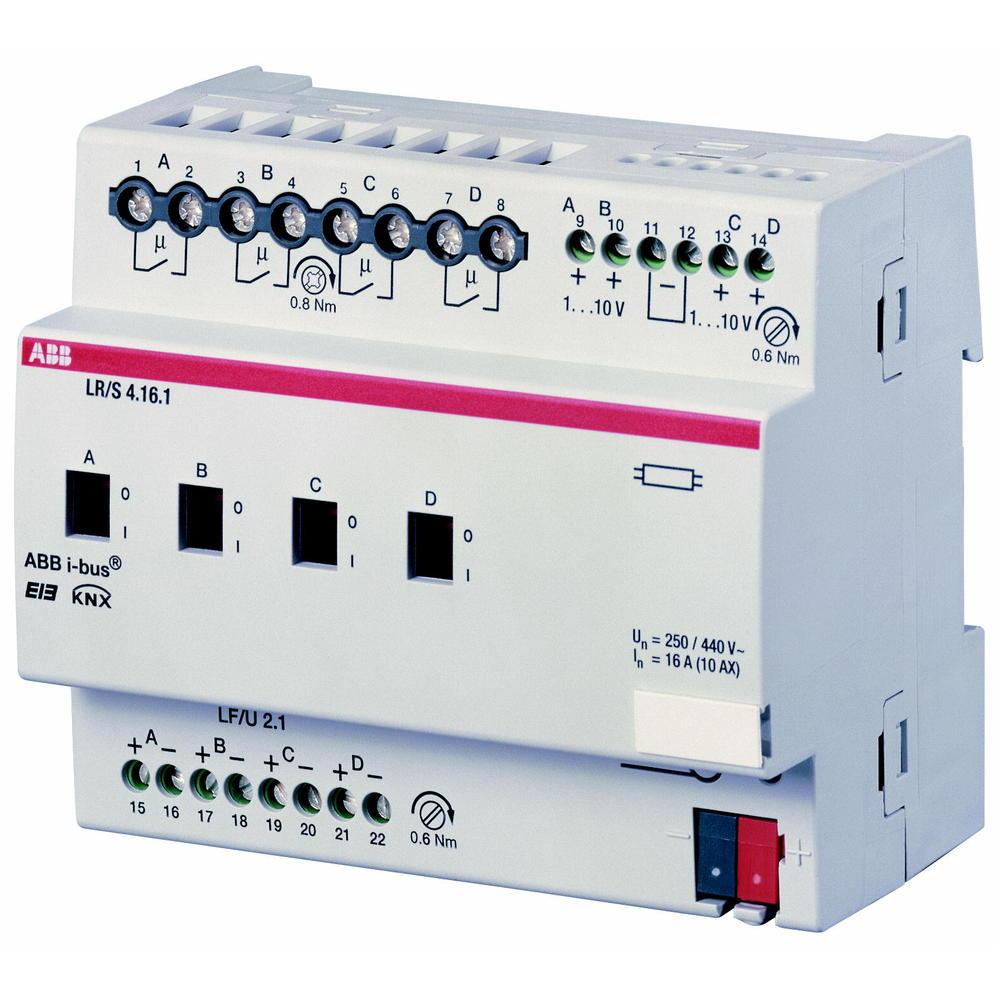 LR/S 4.16.1 BUS KNX LICHTREGEL.0-10V 4V DI