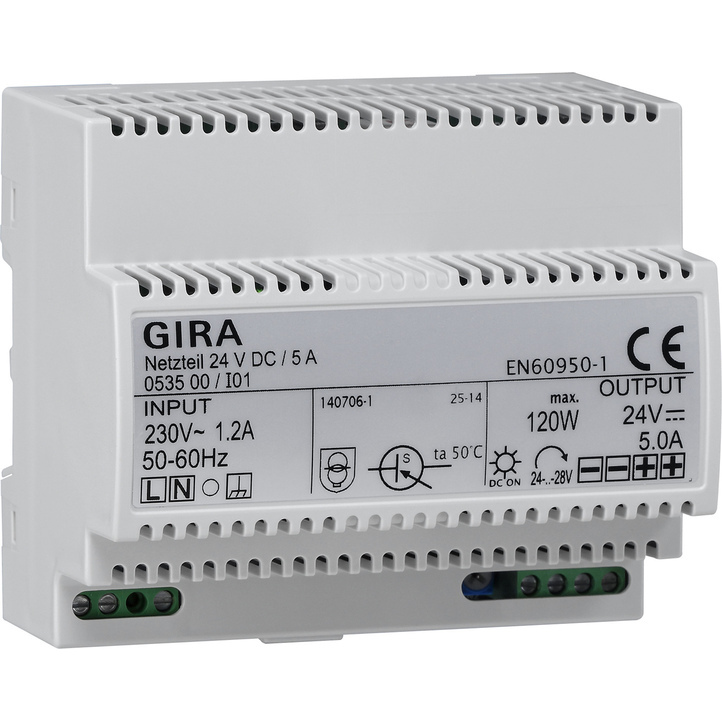 GIRA NETVD24V/4,2A AUD DRA KNX
