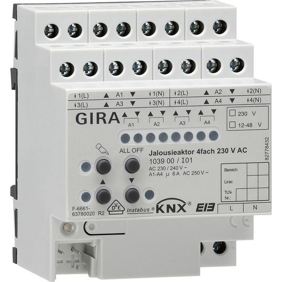 GIRA JALACTOR 4V230VAC DRA KNX