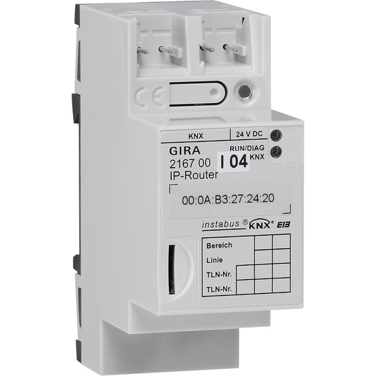 GIRA IP-ROUTER DRA         KNX