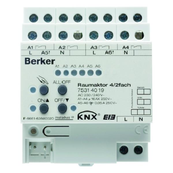 BERK KAMERACTOR 4-/2-V 16A KNX