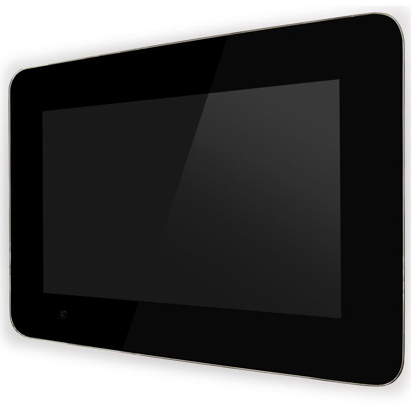 PureDomotica Touch-PC 12 inch audio zwart