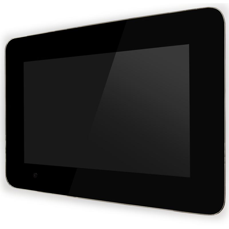 PureDomotica Touch-PC 12 inch zwart ver.2