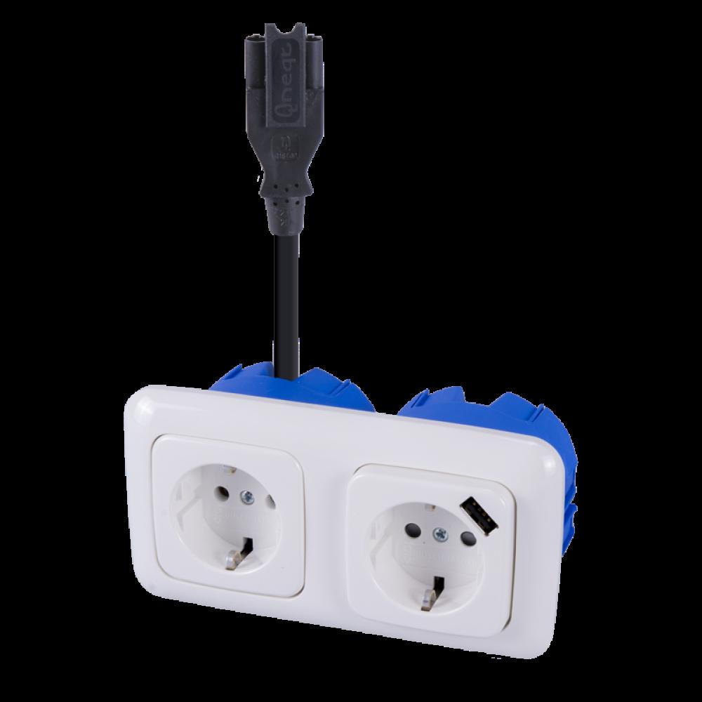 BJ Reflex SI Stekerbare WCD 2V + USB