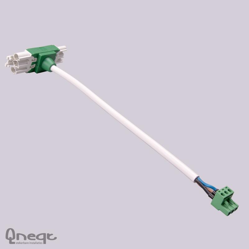 Qneqt Q-Tplug aansluitset voor aanw.mld BASIS