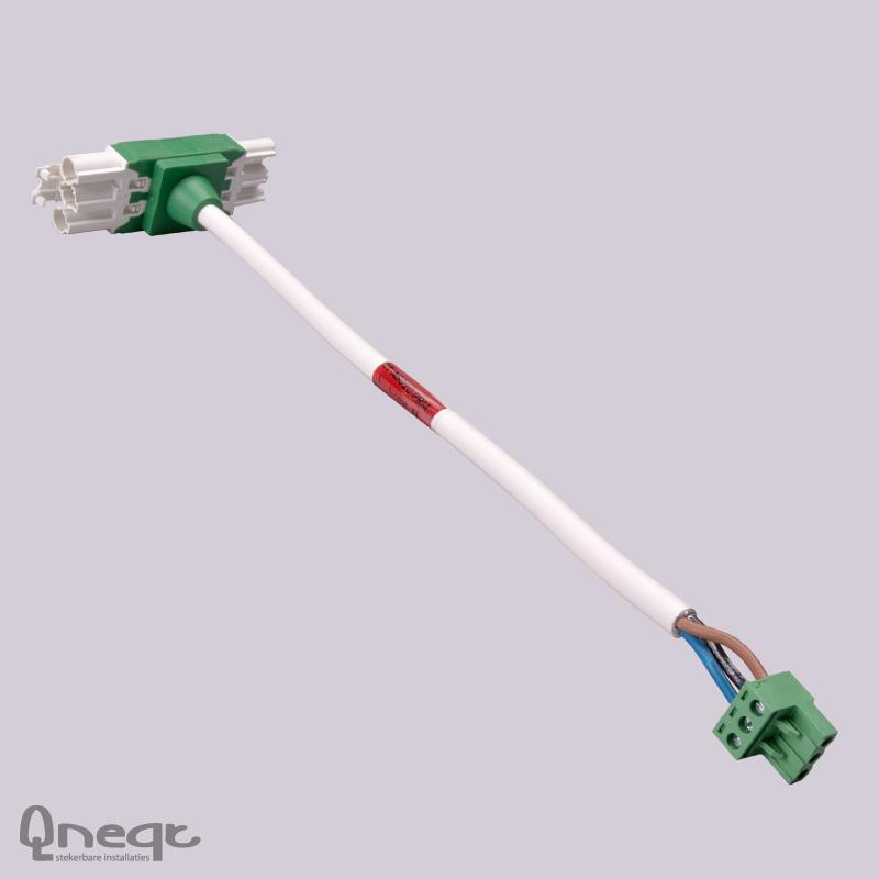 Qneqt Q-Tplug aansluitset voor aanw.mld PRM AD en DD