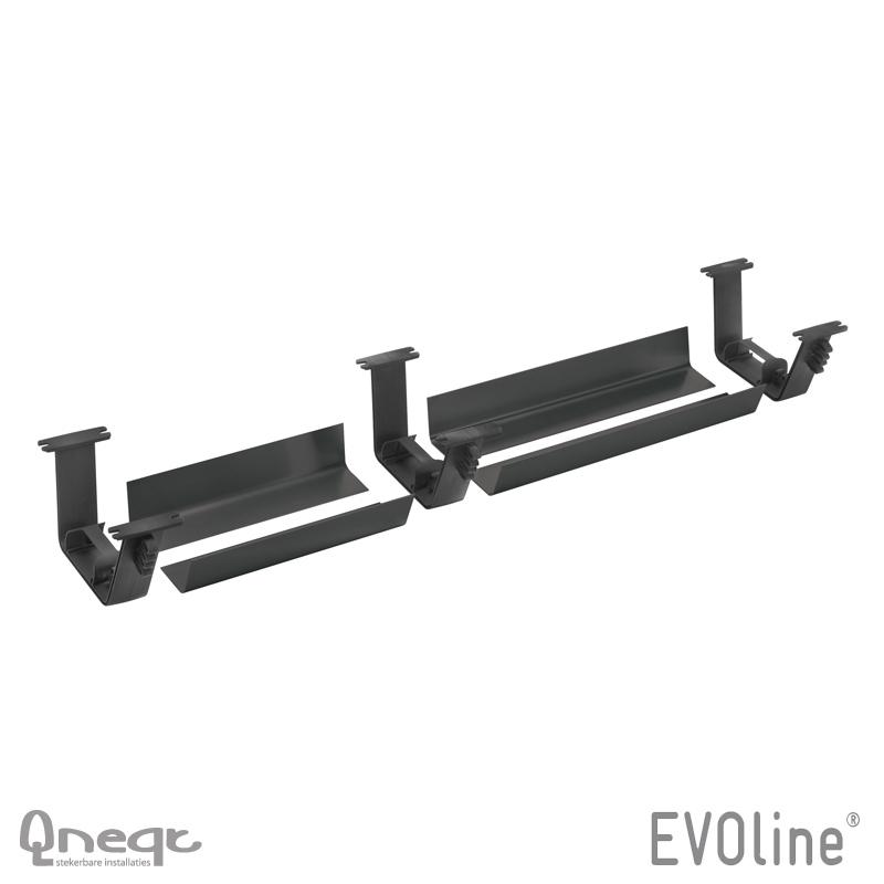 EVOline Rail 3x houder 4x profiel set L=2x300mm tbv U-Dock