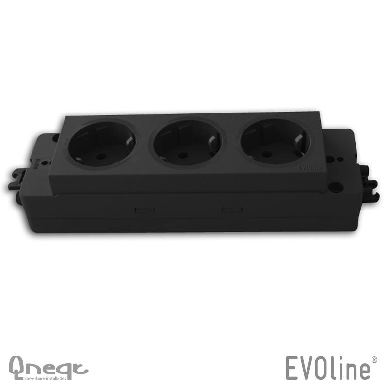 EVOline Express 910 3x WCD WAGO Winsta Midi 3-polig in/uit