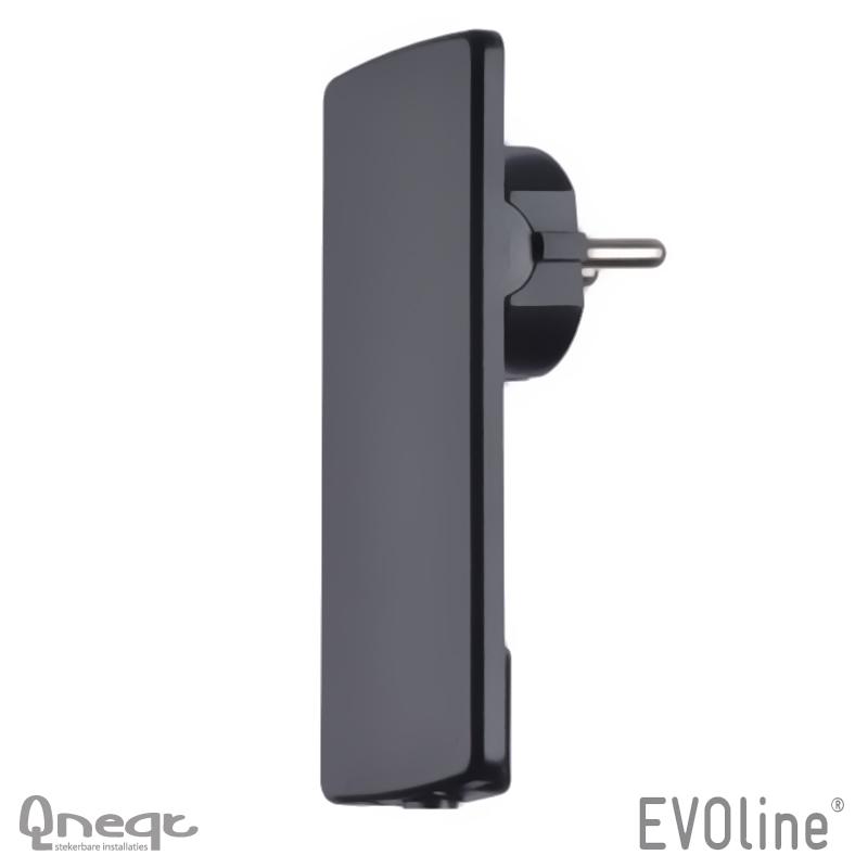 EVOline Plug zwart
