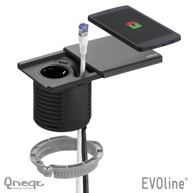 EVOline Square80 1xWCD 1xData 3m los 1xUSB