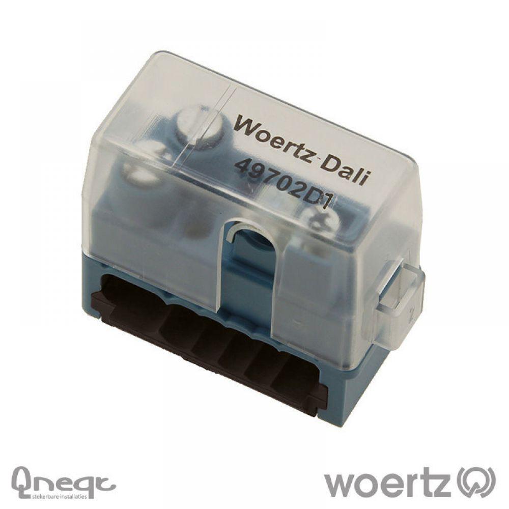 Woertz aansluitdoos bus voor DALI 3G2.5 + 2x1.5