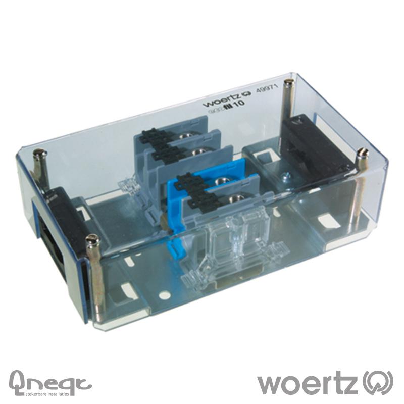 Woertz aansluitdoos voeding voor 5G10 kabel