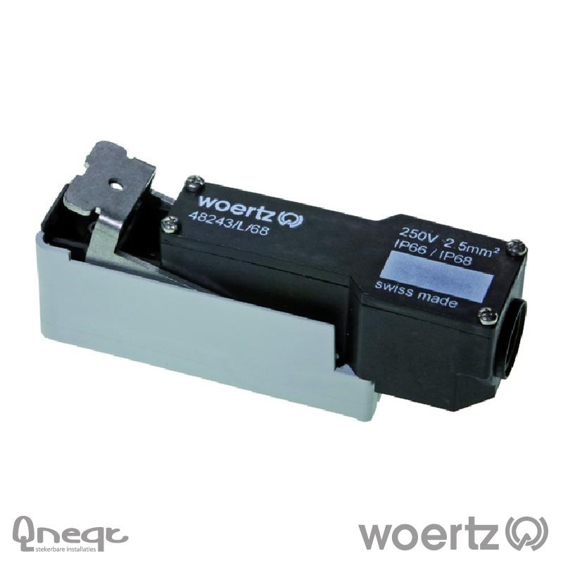 Woertz aansluit- aftakdoos IP68 voor 3G2.5 cable