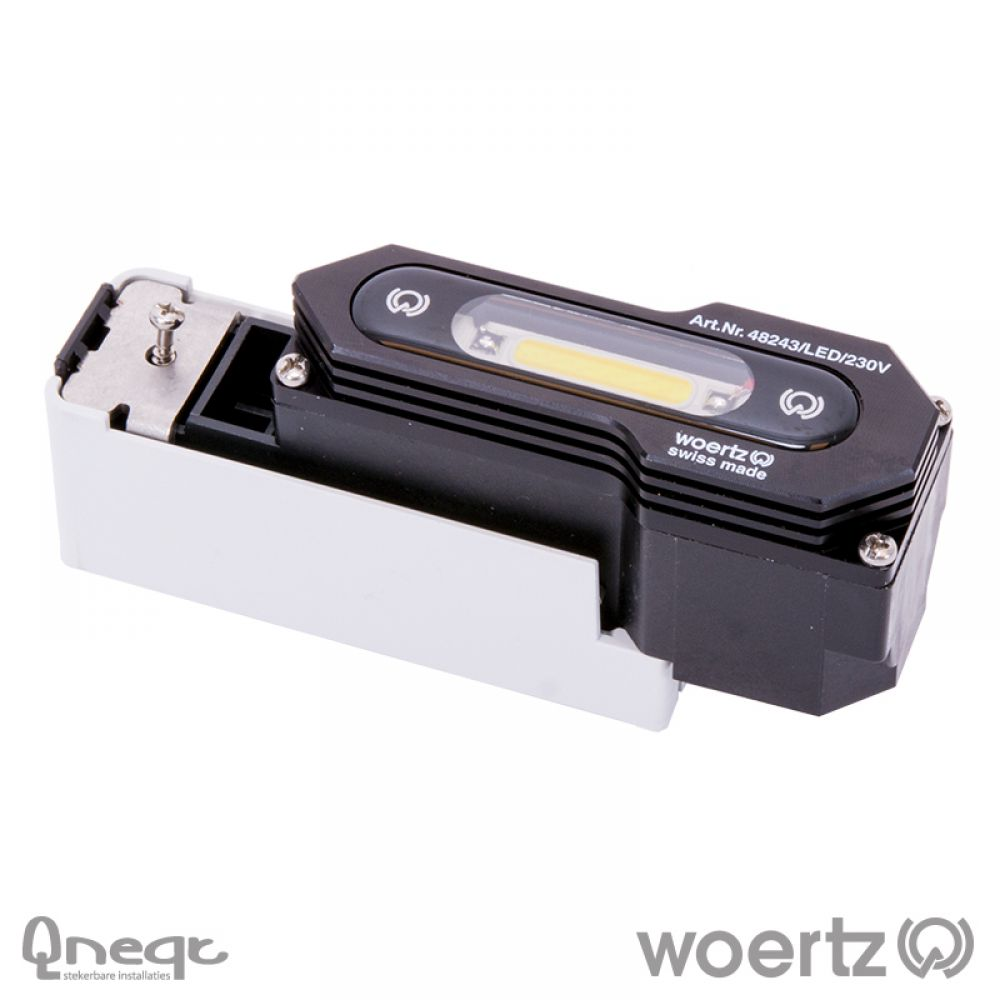 Woertz aftakking LED IP68 230V voor 3G2.5 cable