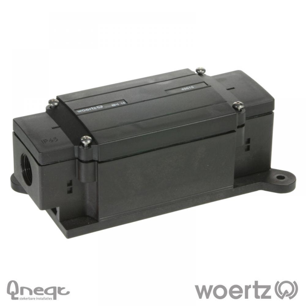 Woertz aansluitdoos voeding voor 5G16 kabel