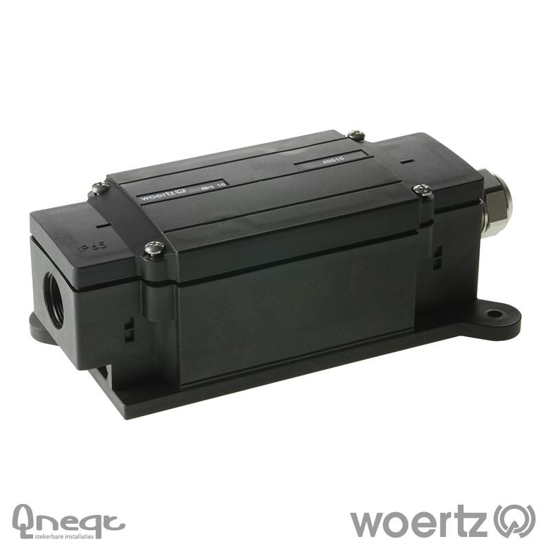 Woertz aftakking 2x 5x6mm2 voor 5G16 kabel