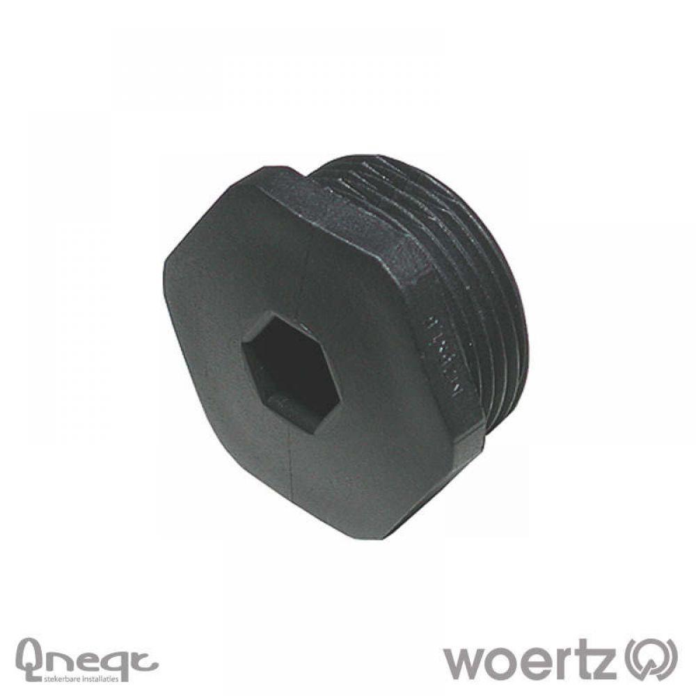 Woertz Blindstop voor kabelwartelgaten M25x1,5