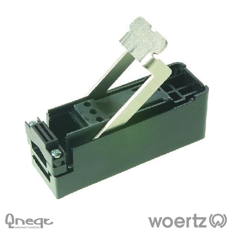 Woertz aftakking voeding voor 3G2.5 en 3G4 kabel