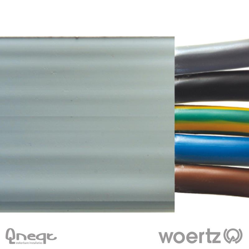 Woertz vlakbandkabel 5G16 mm2 HV B2ca