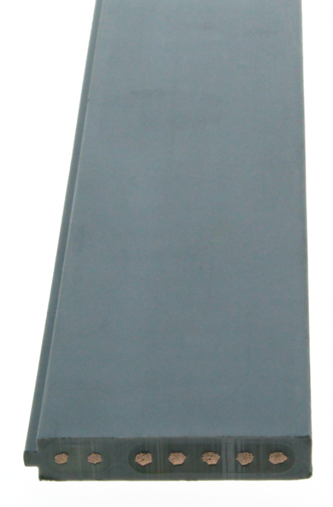 Woertz Combi vlakbandkabel 5G2.5 + 2x1.5 mm2 IP68 FRNC B2ca